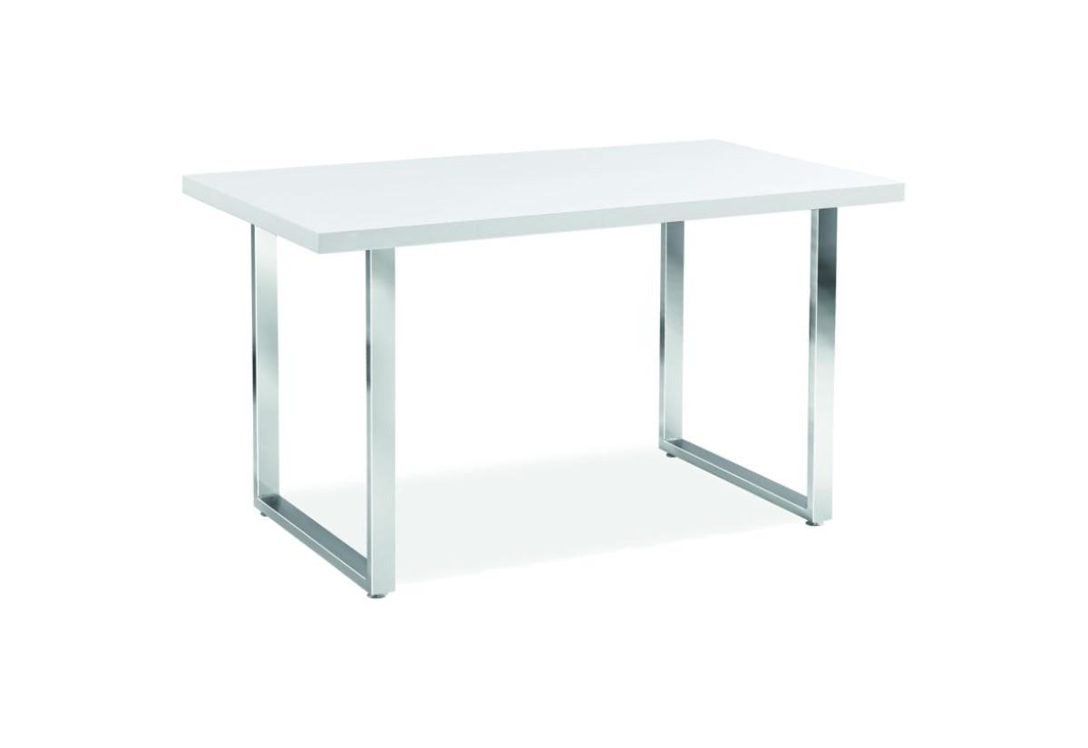 Jídelní stůl GIN, 75x80x130, bílá