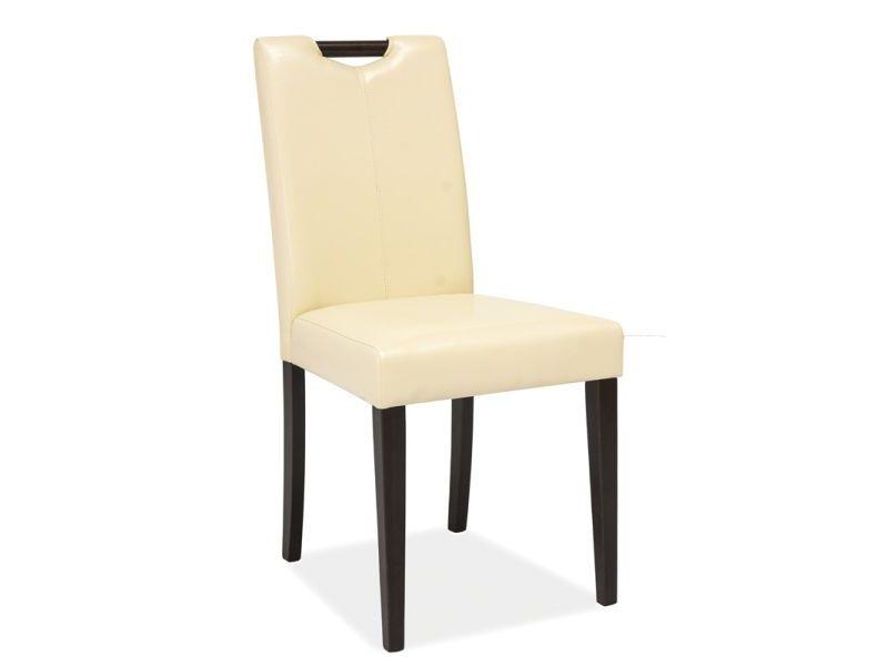 Židle CUTE CD-76, 91x43x41, béžová/venge