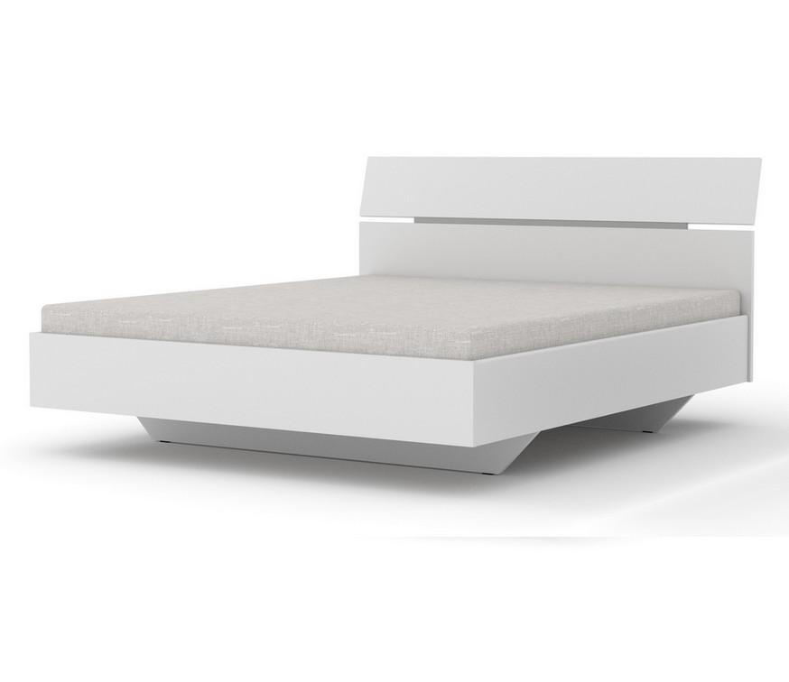Manželská postel AUSTRIA, 180x200, bílá