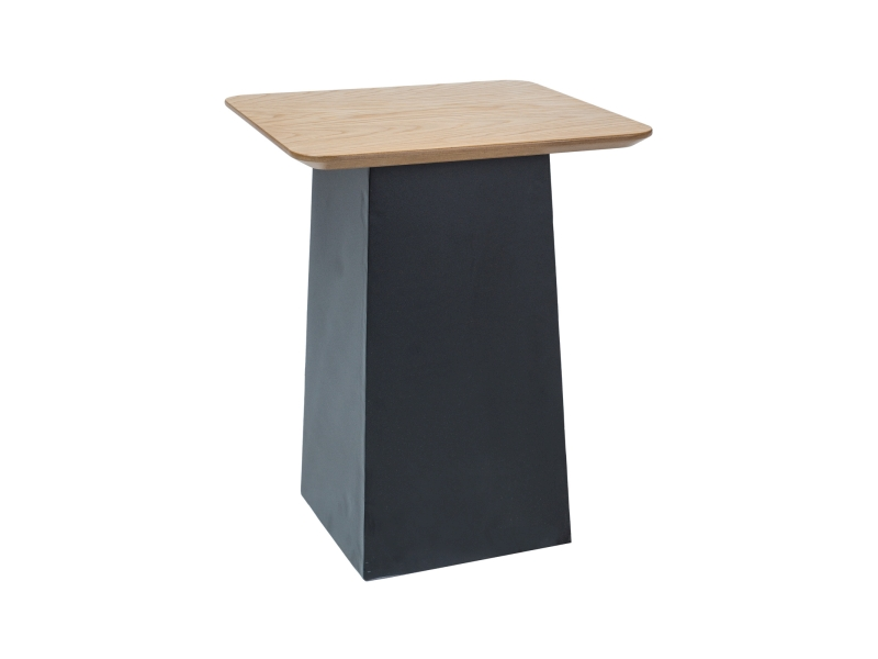 Konferenční stolek CRUISE, 50x40x40, dub/černá