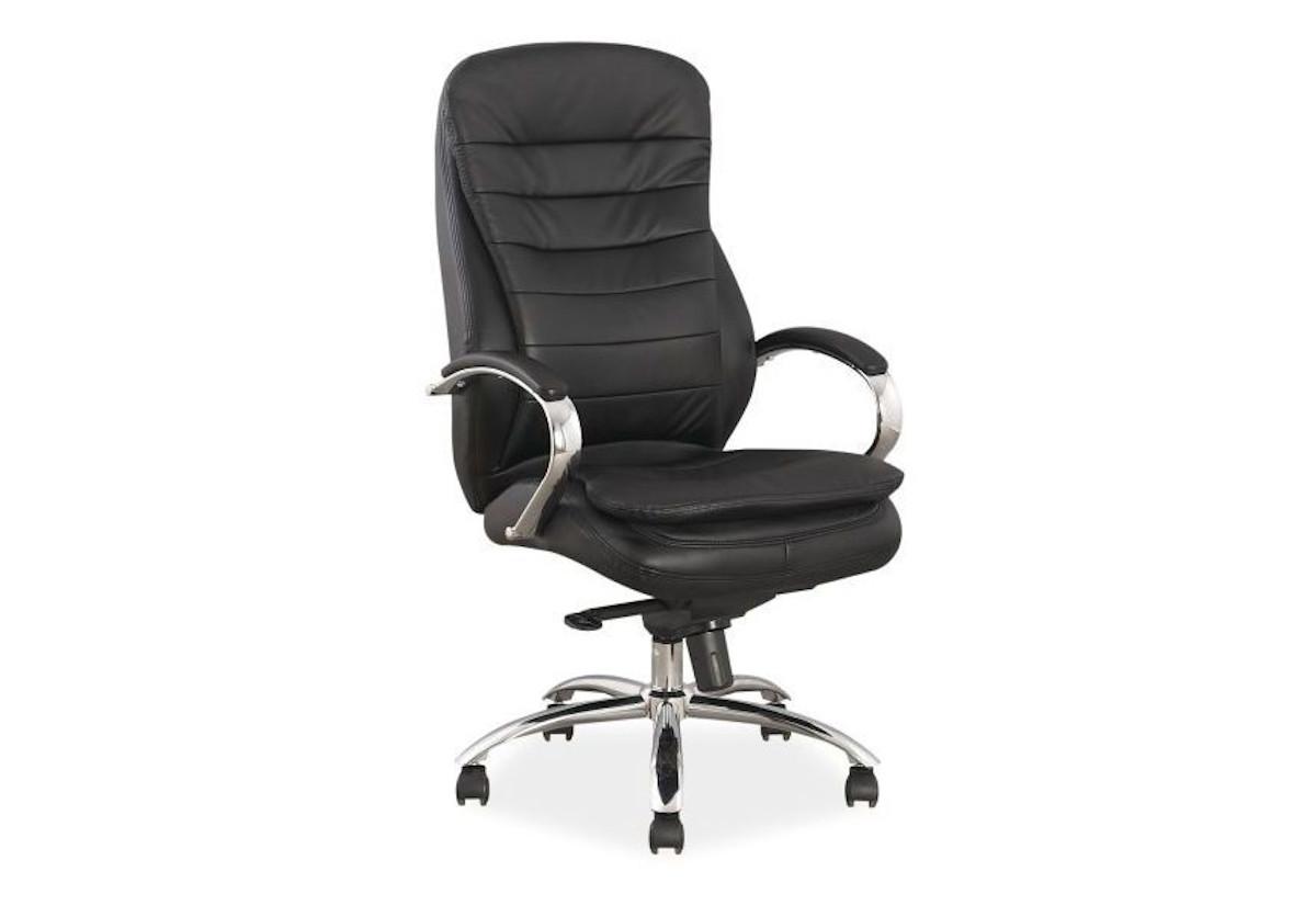 Kancelářská židle WORD, 116-122x65x53x51-57, černá
