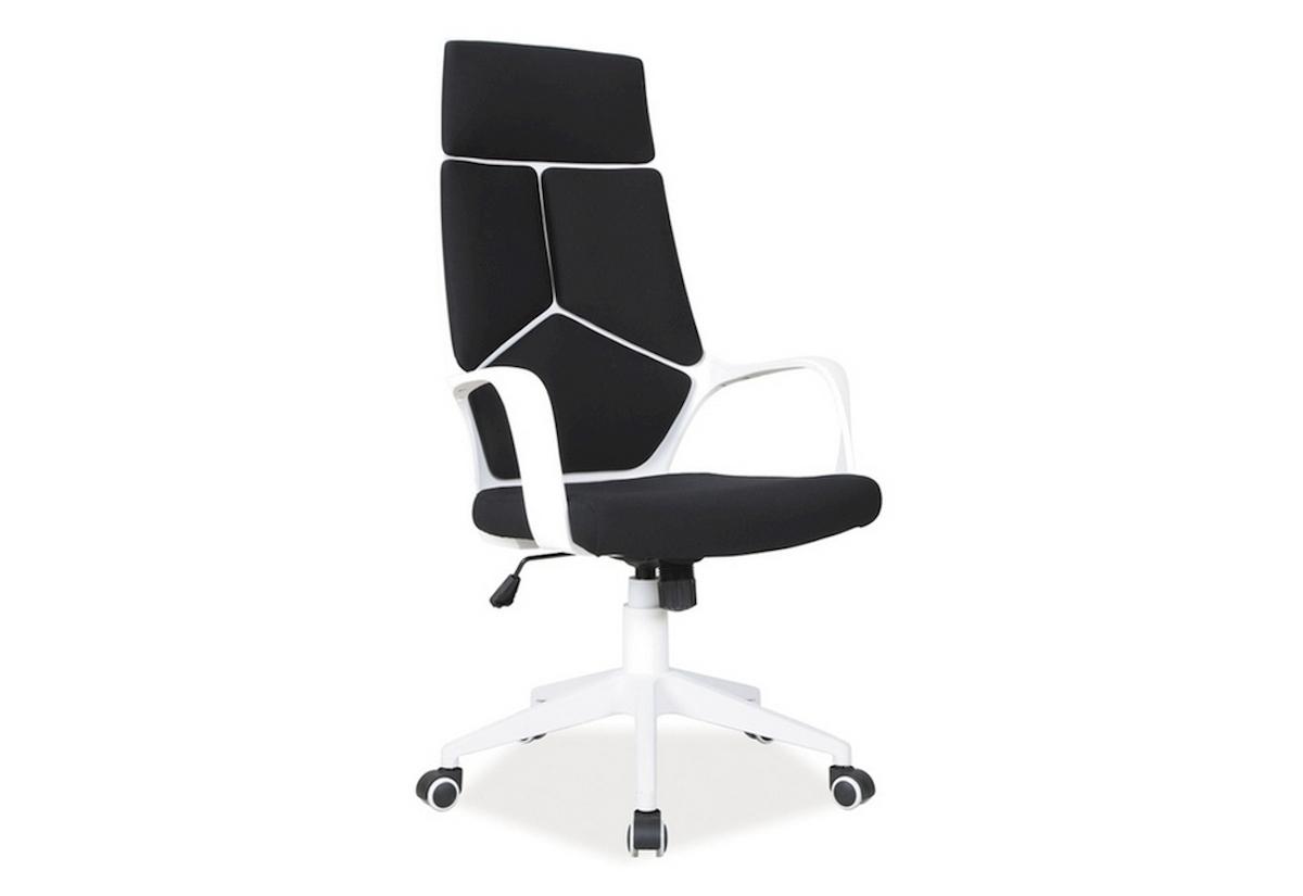 Kancelářská židle BUY, 114-124x63x46x47-57, černá