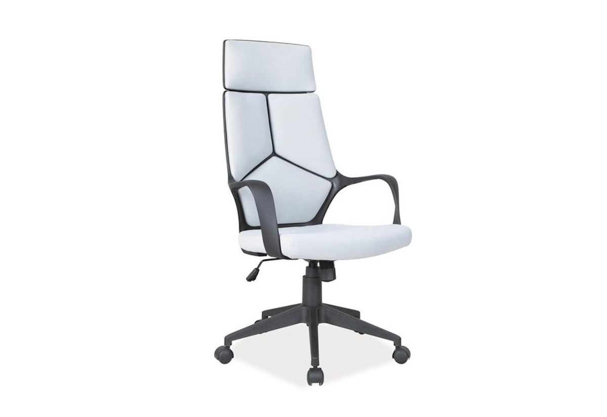 Kancelářská židle BUY, 114-124x63x46x47-57, šedá