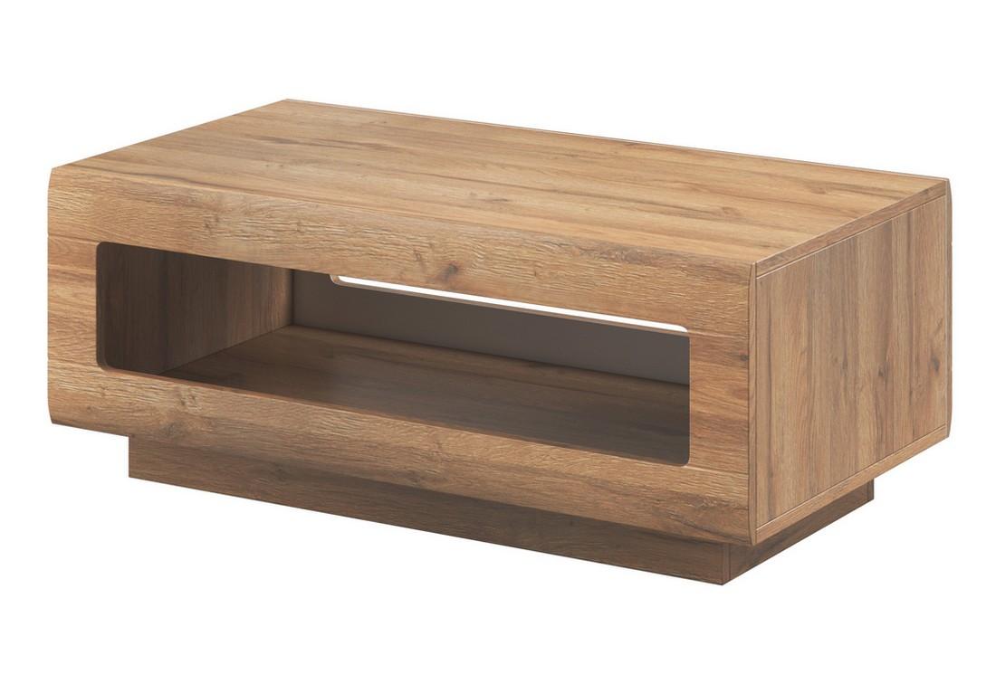 Konferenční stolek LOLA, 110x44x60, dub Grandson