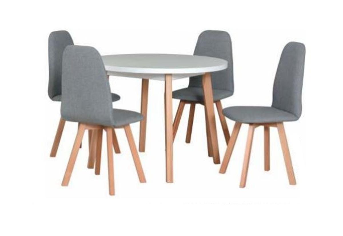 Jídelní sestava BERGEN 3, stůl + 4x židle