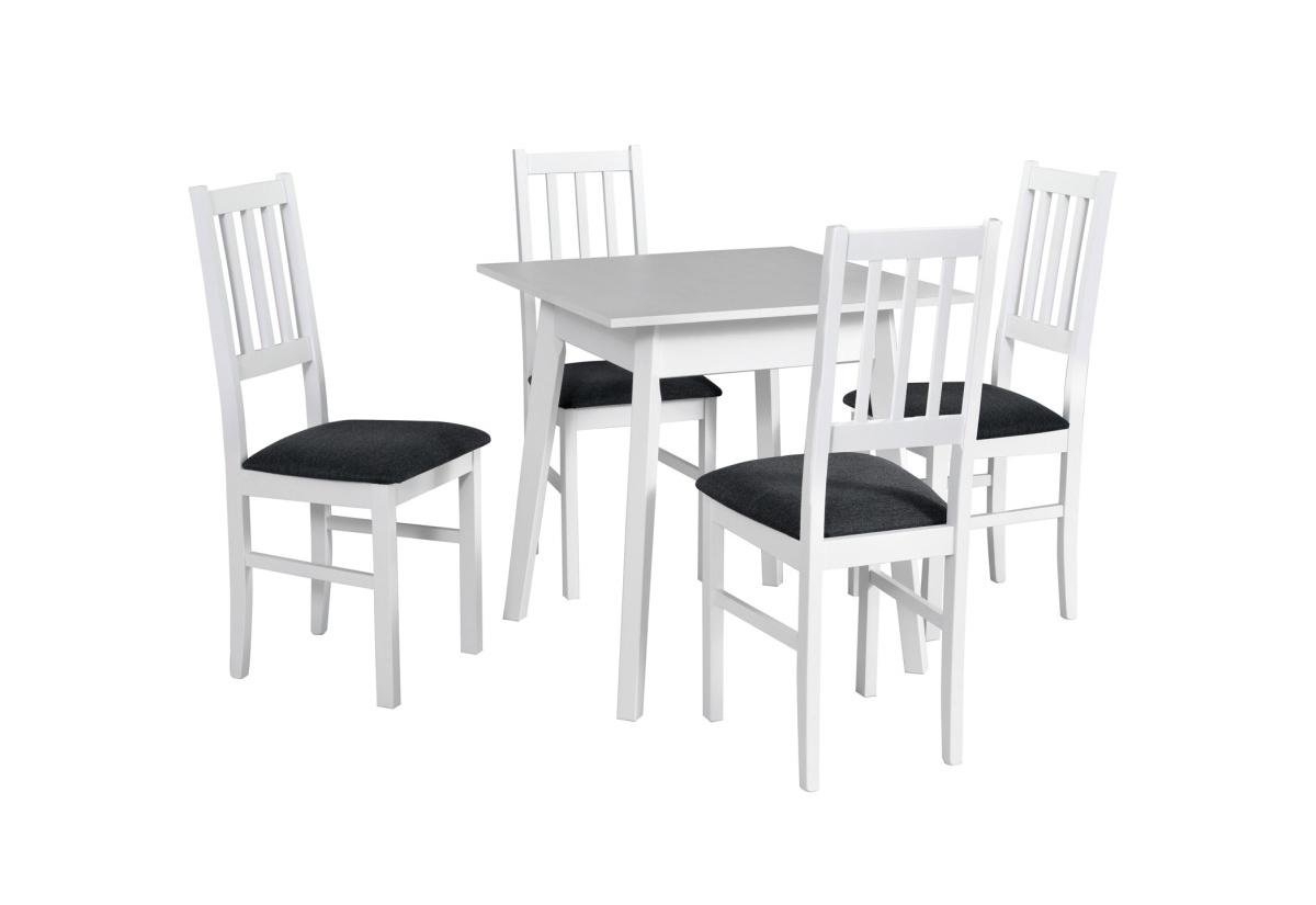 Jídelní sestava BERGEN 1, stůl + 4x židle