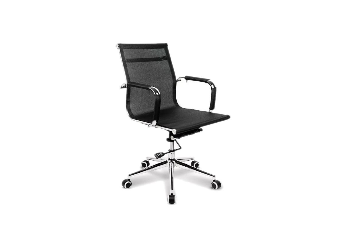Kancelářská židle CANCEL FACTORY, černá