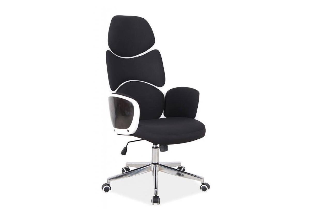 Kancelářská židle KAMET Q-888, 62x117x47, černá