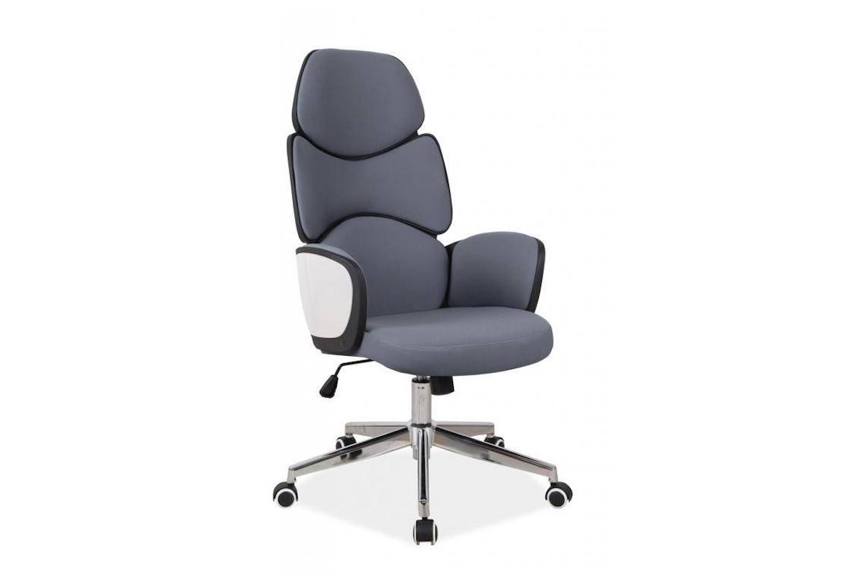 Kancelářská židle KAMET Q-888, 62x117x47, šedá