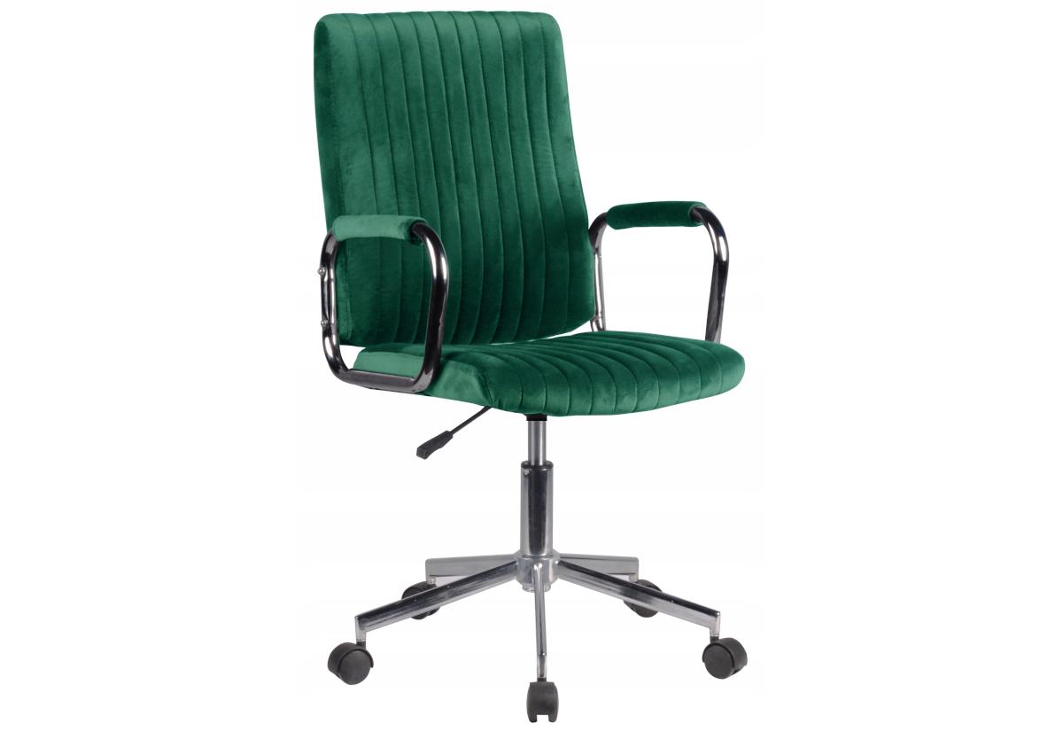 Kancelářská židle KORAD FD-24, 51x92-102x61, zelená