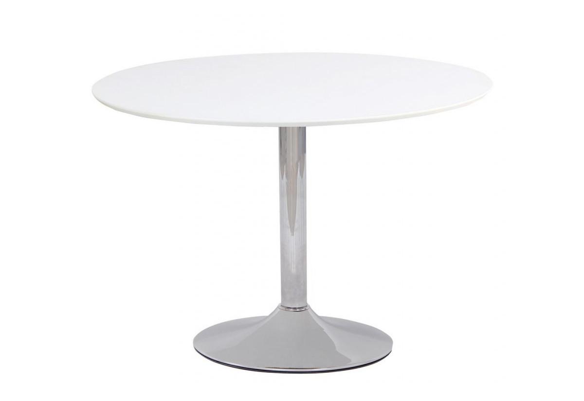 Jídelní stůl VIOLO, 90x75x90, bílá