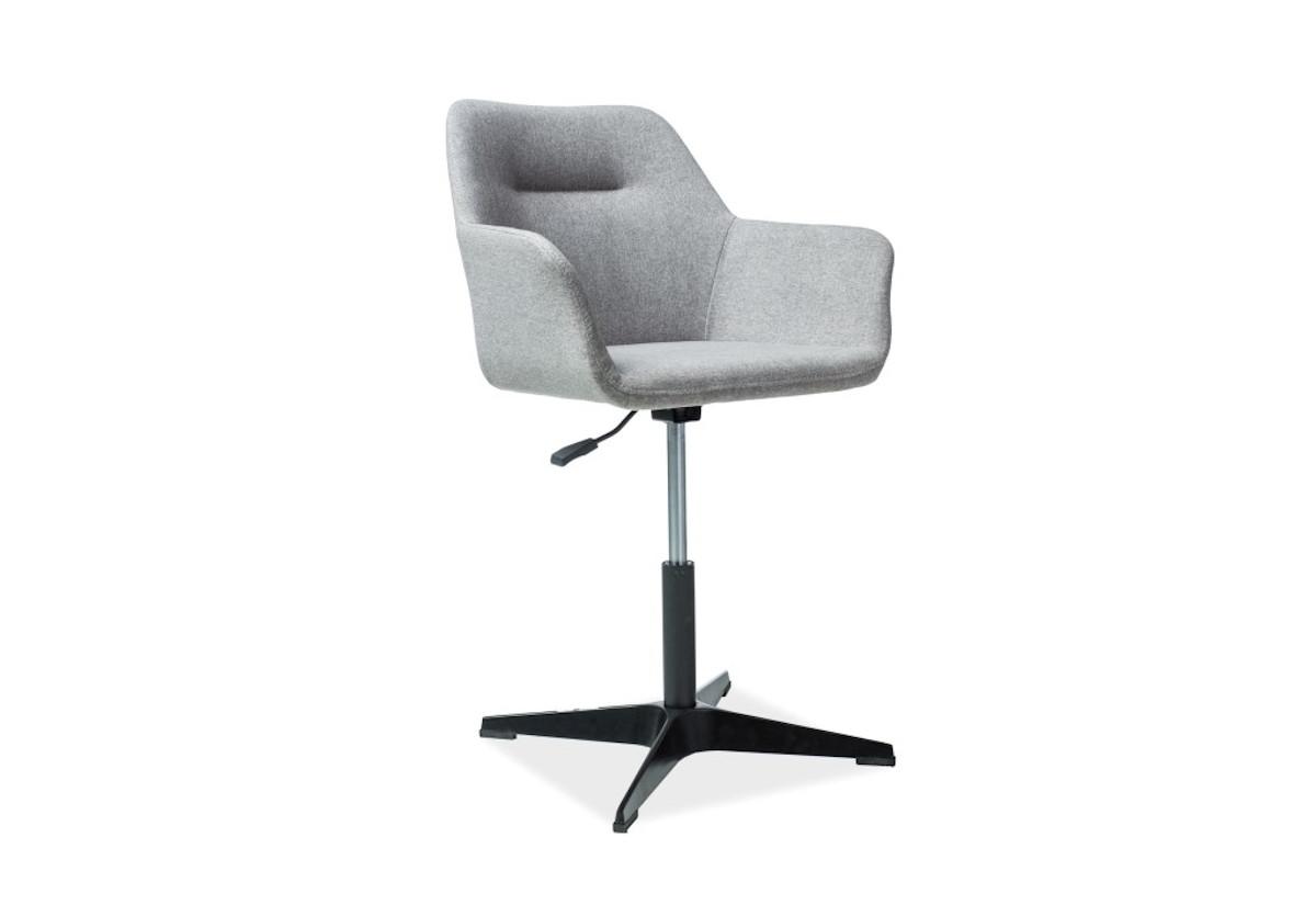 Židle THERON, 60x80x43, šedá